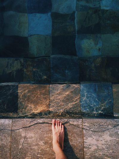Vacation Pool Foot Water