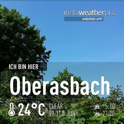 Weather Instaweather Instaweatherpro Androidonly androidnesia instagood Oberasbach Deutschland