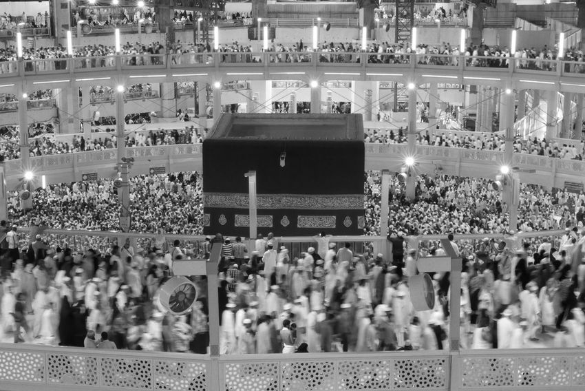 Kaaba Islam Religion People Praying
