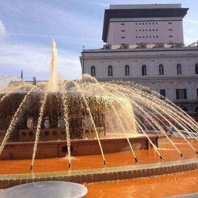 Fountain Square Genova Genoa