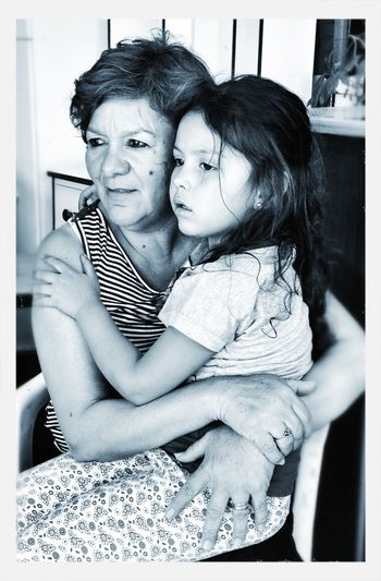 RePicture Love Grandmother Black And White Lazos