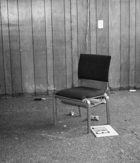 Blackandwhite Black And White Black & White Blackandwhite Photography Abandoned Places Abandoned Buildings Abandoned & Derelict Prison Chair Office Chair Wood - Material Furniture Abandoned