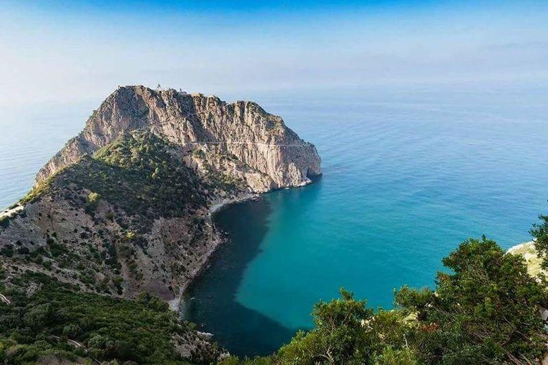 Sea Water Cliff Rock - Object Beach Sky Landscape
