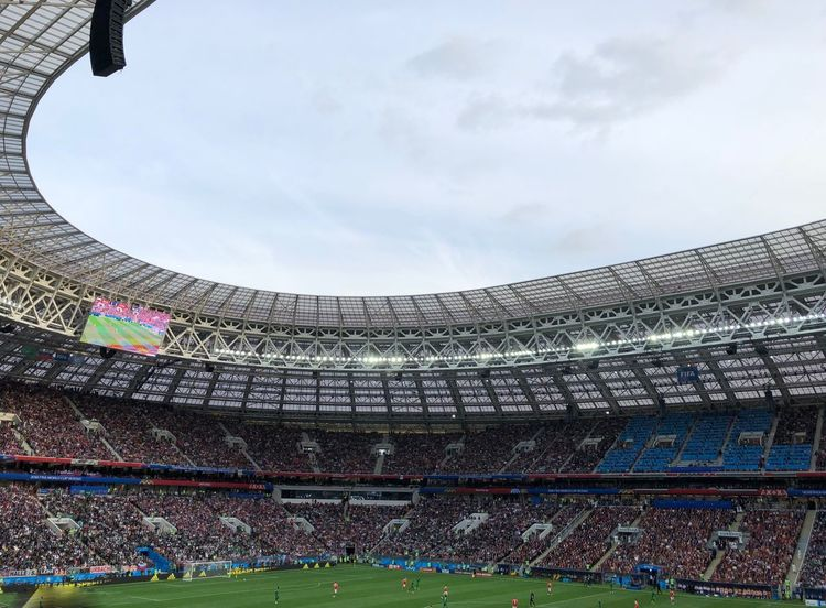 Event FIFA World Cup Russia FIFA World Cup Of 2018 Football Luzhniki Moscow Russia Russia 2018 Stadium Architecture Built Structure Crowd Excitement Fifa World Cup Fifa2018 Football Stadium Group Of People Russia2018 Soccer Spectator Sport Stadium Travel Destinations World Cup World Cup 2018 Creative Space World Cup 2018 The Architect - 2018 EyeEm Awards