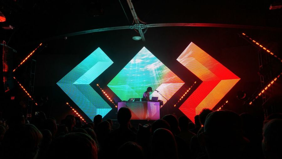 Saw Madeon at The Orange Peel in Asheville, NC Last Night. Nightlife Edm Lights Learn & Shoot: After Dark Neon Life