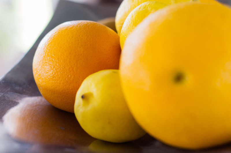 Fruit Healthy Eating Yellow Food And Drink Freshness Indoors  Food Close-up Citrus Fruit No People Healthy Lifestyle Day Grapefruit Orange Lemon