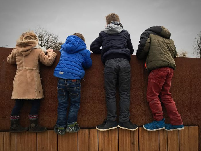 Doetinchem Family Child Lifestyles Outdoors Day Cold Temperature First Eyeem Photo