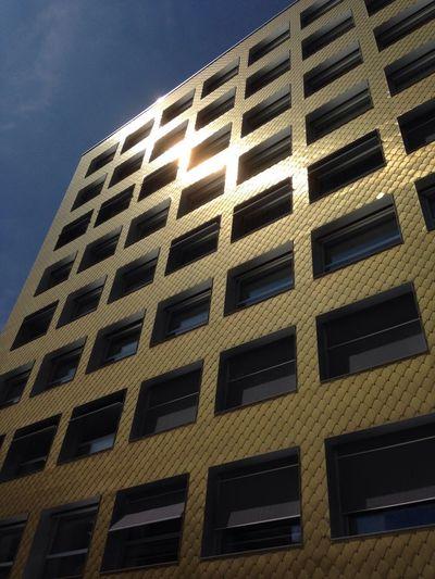 Golden Architecture in Lugano Ticino