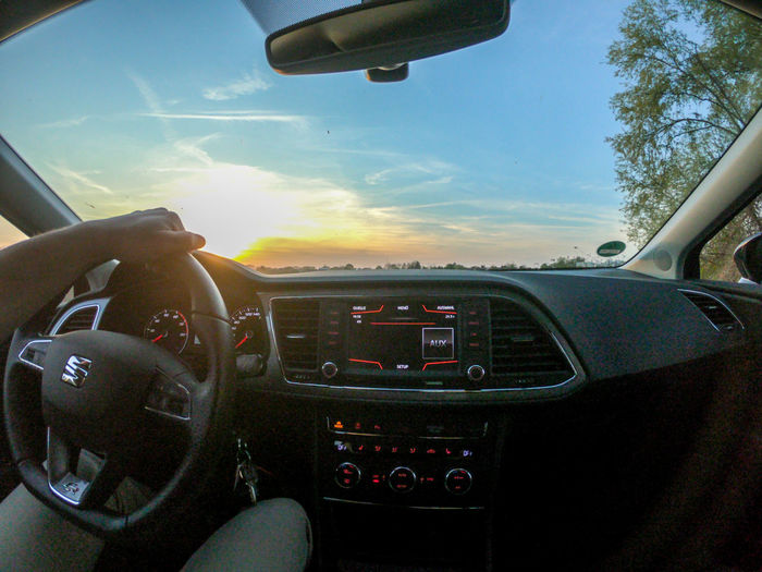 Driving into