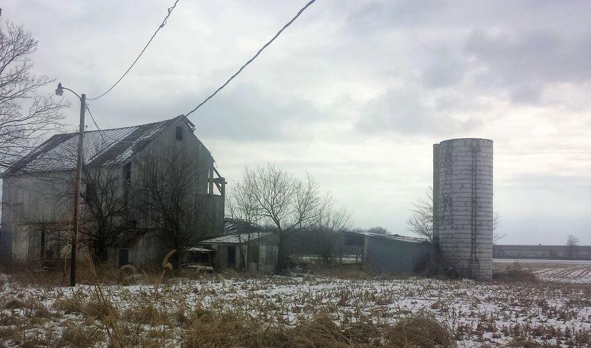 Rurex Abandoned Abandoned Barn Winter