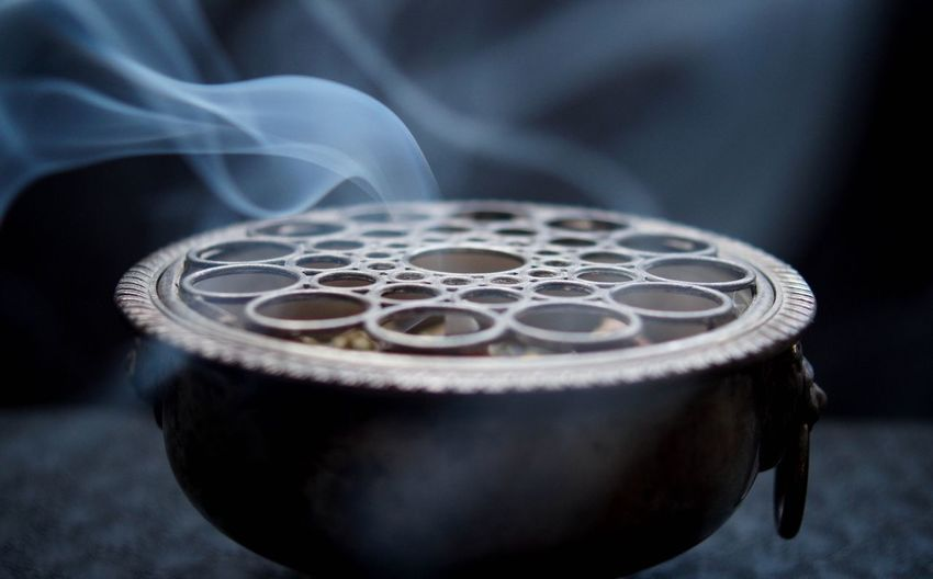 Close up of incense