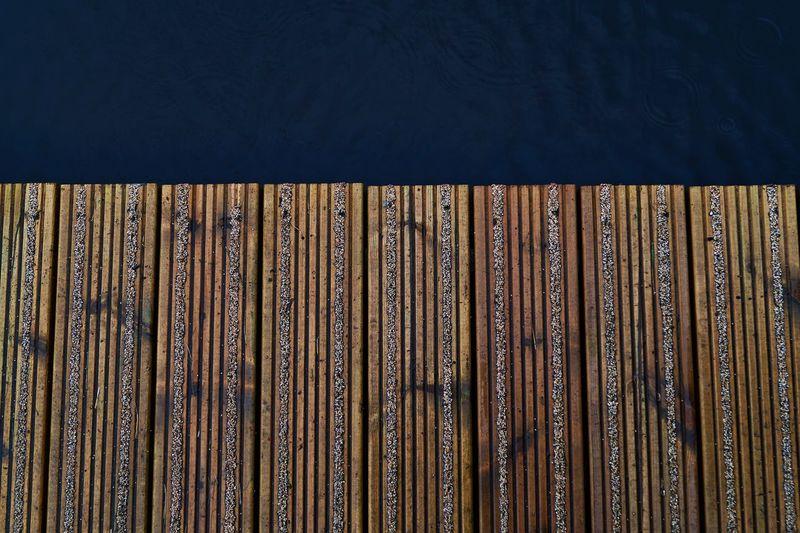 Full frame shot of pier
