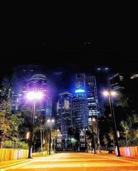 dark city Illuminated City Stadium Tree Lighting Equipment Sky Street Light Firework Display Firework - Man Made Object Entertainment Glowing Lamp Post Electric Light High Street