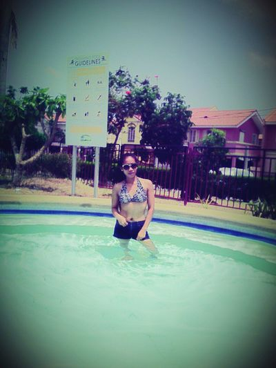 Swimming Pool Young Women Human Body Part Smiling One Person One Woman Only <3 <3 !