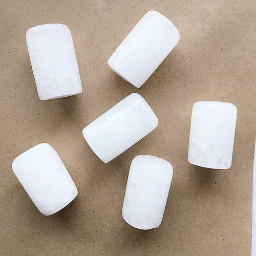 Plastics on table