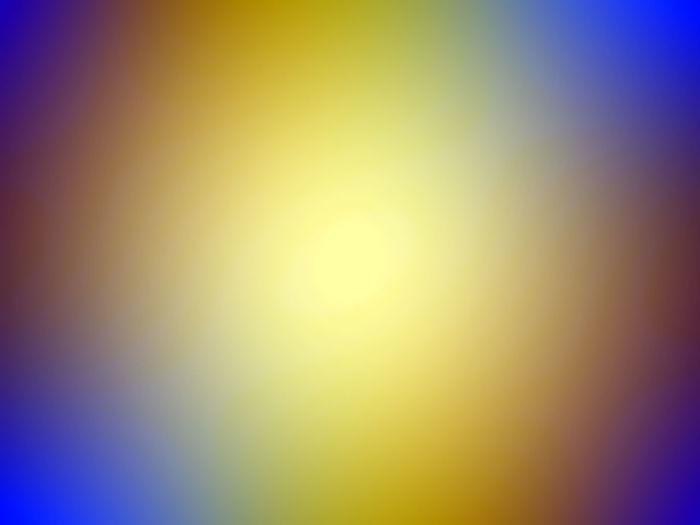 Defocused image of yellow sky