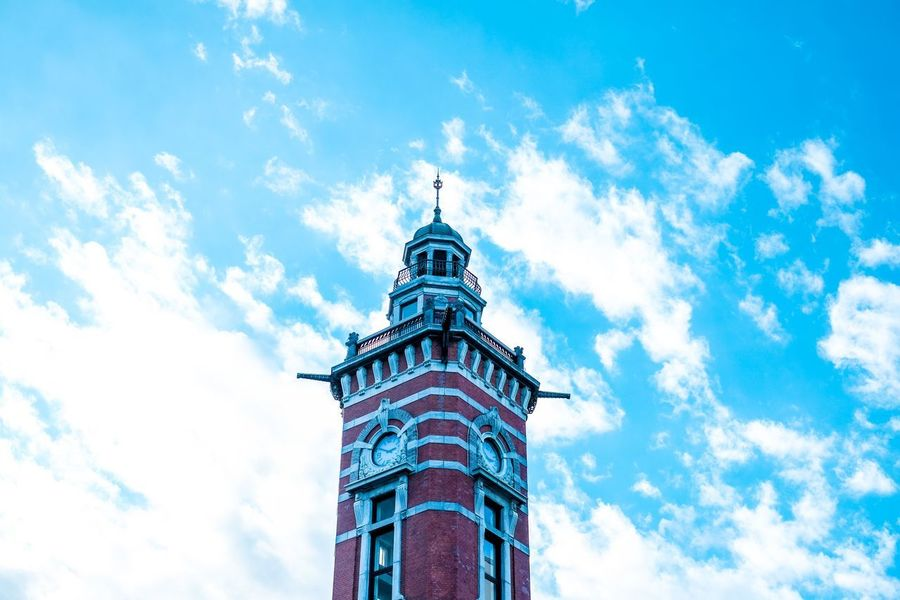 Fujifilm Sky Cloud - Sky Low Angle View Architecture Day Built Structure History No People Blue