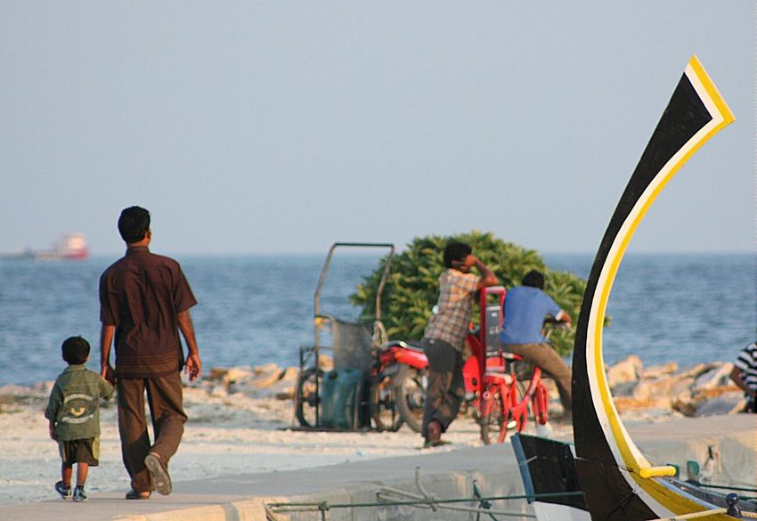 Maldives Outdoors Pier Walking