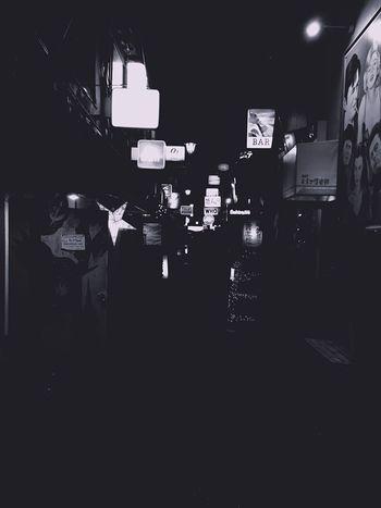 Walking Around Streetphotography Streetphoto_bw Street Light And Shadow Light Blackandwhite Night Tokyo Japan