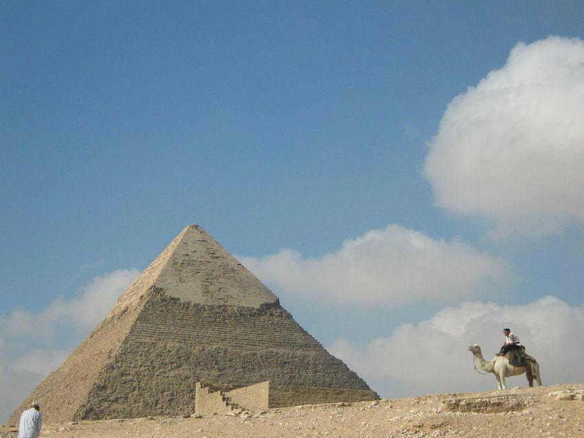 египет пирамиды исторические места путешествия небо и облака / Piramids Historical Place Sky And Clouds Traveling Egypt