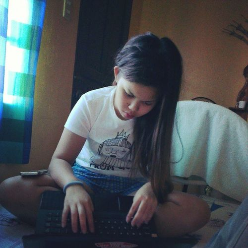 Not sure if NagAaral Studying or just Facebooking InternetLol Fridays InstaFridays GoodFriday @akosichandupe