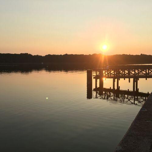 Sun Set at lake