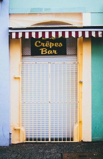 closed bar