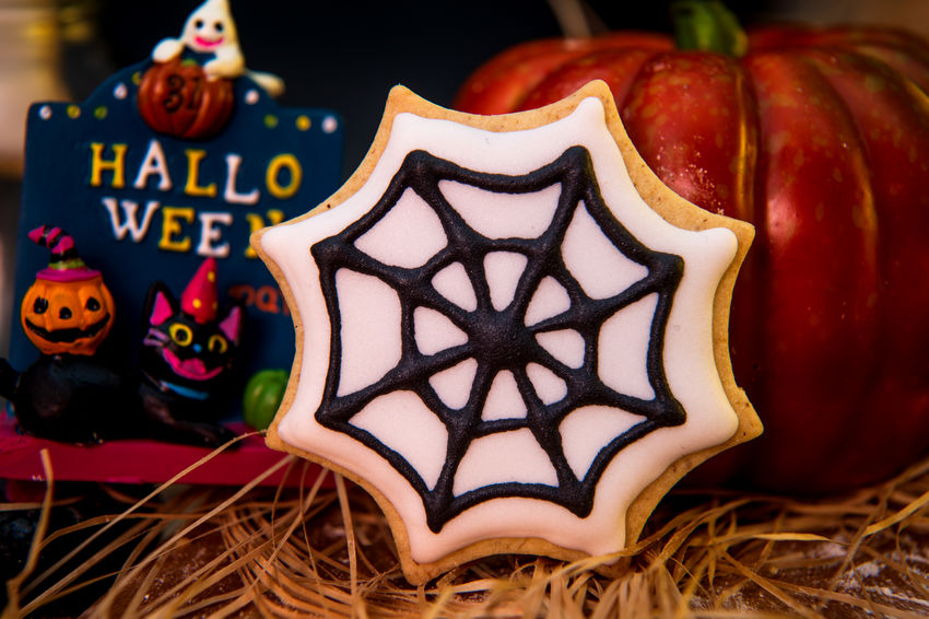 Bones Cookies Dessert Ghost Halloween Halloween_Collection Holiday Homemade Low Key Monster October Spider Cake Cookie Creative Cute Decorated Decoration Eyeball Eyeballs  Halloweenparty Pumpkin Spiderweb Sweet Whitch