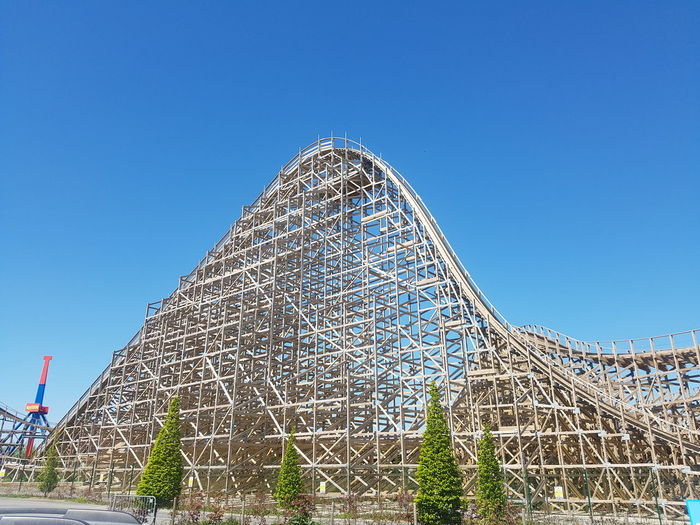 Tallest wooden rollercoaster in Europe. Tayto park Ashbourne Ireland Amusement Park No People Outdoors Rollercoaster Samsung Galaxy S7 Ireland🍀 Tayto Park Ireland Wooden Rollercoaster