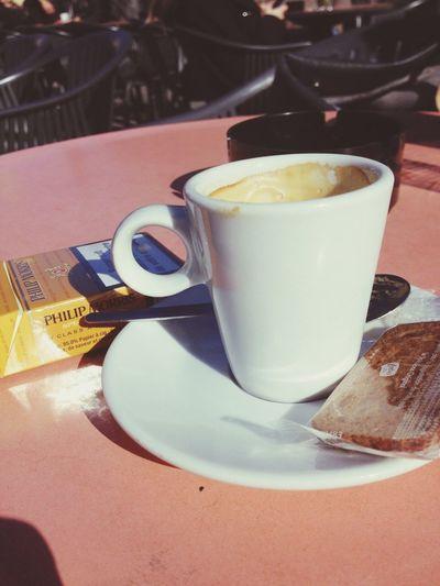Coffee And Cigarettes Sunnyday☀️