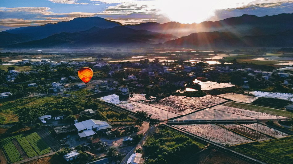 Be. Ready. Scenics Outdoors Mountain Landscape Sunlight Canon Live Authentic Reflection Resolution Goals Enlightenment Realization Bucketlist Taiwan Adventure Destination Roadtrip Travel Hot Air Balloon Scenery Take Off Dawn Sunrise HikeNhype EyeEmNewHere