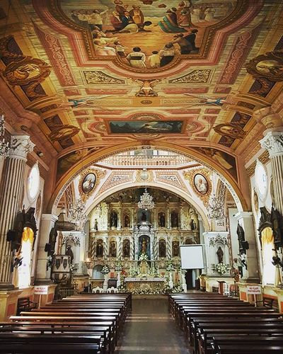 Finally saw the inside of Betis church, declared in 2001 as a National Cultural Treasure by the National Museum. Really is majestic and beautiful. Architour Churchtour Religiousarchitecture Liftyear Roadtrip Travelphotography Traluluphilippines