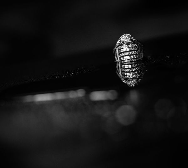 ring 8.. Animal Animal Themes Beauty In Nature Blackandwhite Bnw Close-up Day Focus On Foreground Fragility Growth Indoors  Natural Pattern Nature No People Pattern Selective Focus Single Object Still Life Textured  Vulnerability  Wedding Ring