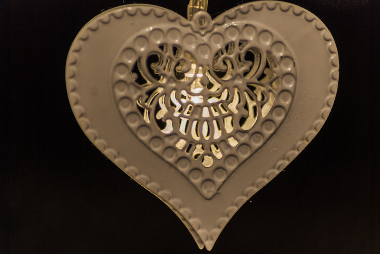 Heart with led