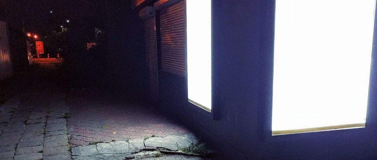 White Screen Light In The Darkness Black & White Light And Shadow Nexus5photography Nexus5x Random Place