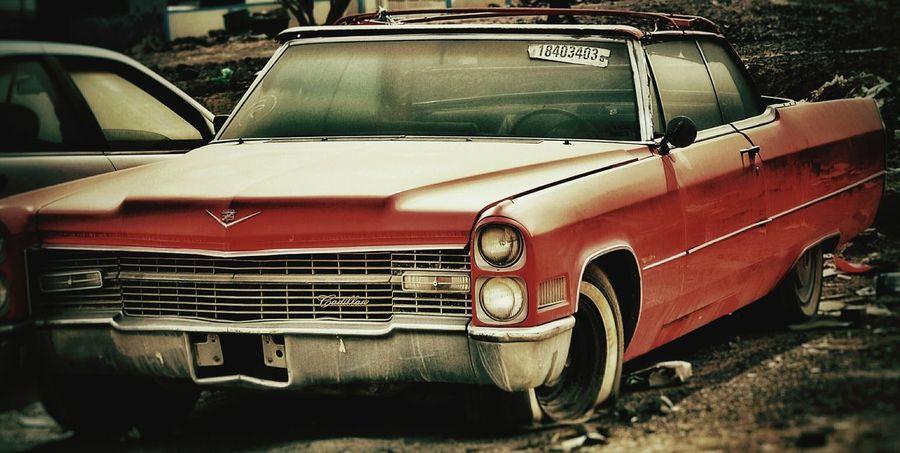 Vintage Cars AmericanMuscle Cadillac Old Car Trashmetal Grunge