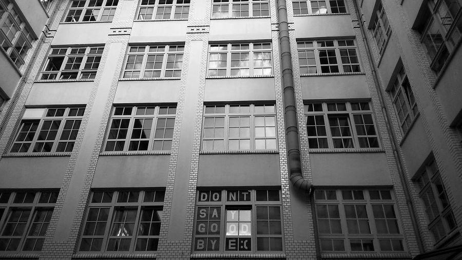 """don't say goodbye"" Architecture_bw Architecture Black & White Blackandwhite"