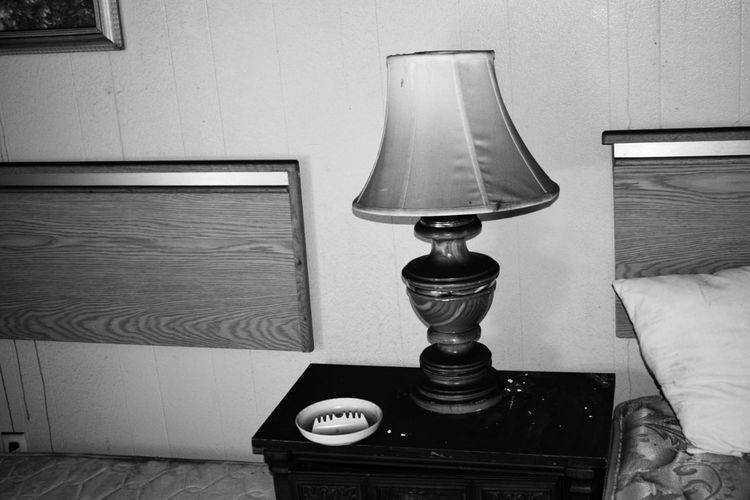 Blackandwhite Black And White Black & White Blackandwhite Photography Abandoned Places Abandoned Buildings Abandoned & Derelict Abandoned Lamp Light Side Table Illuminated Lamp Shade  Electric Lamp Floor Lamp Night Table