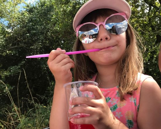 EyeEm Selects One Person Portrait Front View Leisure Activity Real People Drink Day Glasses Lifestyles Sunglasses Outdoors