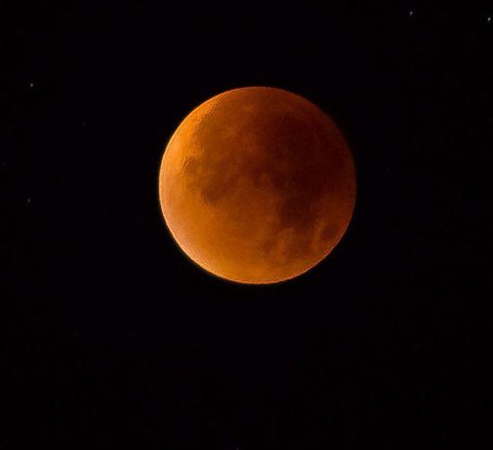 Mond Mondfinsternis Nacht Nachts Nachtaufnahme Nachtfotografie Moon Moonlight Full Moon Moon Light