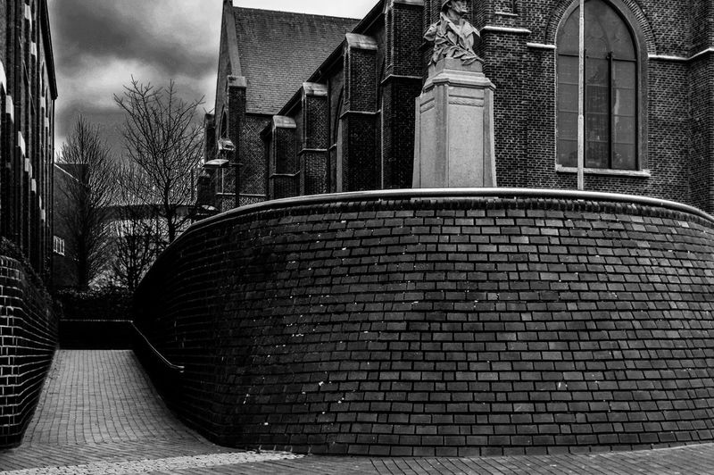 Beringen centrum Blackandwhite Black And White Cloud - Sky Day EyeEm Best Shots EyeEmNewHere EyeEm Selects EyeEm Gallery Eye4photography  First Eyeem Photo Monochrome Outdoors Church Church Architecture City Architecture Building Exterior Built Structure Sky Tall - High Building Historic Exterior The Street Photographer - 2019 EyeEm Awards