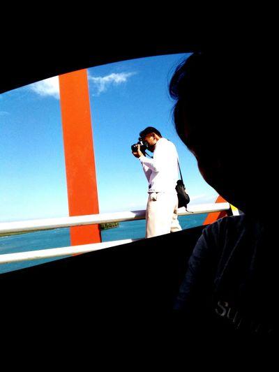 MeinAutomoment Capturedfromacar Thephotographer Bridge View Tacloban, Philippines