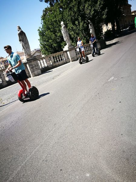 Segway Riding Two People Day Boys Child Fun Outdoors Leisure Activity Childhood People Men Togetherness Real People Transportation Lifestyles Motorcycle Tree Full Length Children Only Adult The Purist (no Edit, No Filter) Color Photography 😆 Capture The Moment Rome Italy🇮🇹