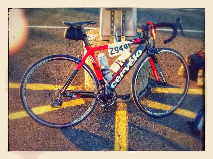 My Ride ... Biking For A Cause Bicycle Biker Bikeride Cervelo MS150 Road Bike