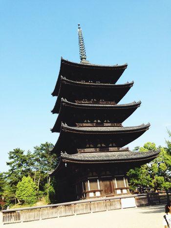 Hello World Temple Japan Tower