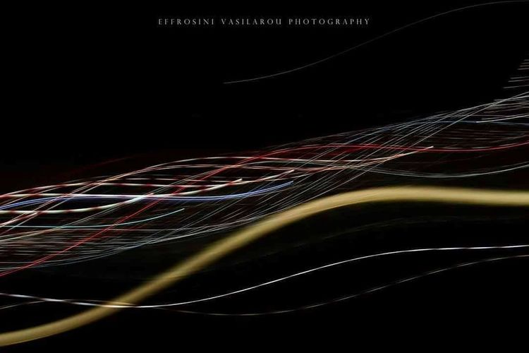 EyeEmNewHere Eye4photography  Getting Inspired Getting Creative Getty Images Light Trail Lines, Shapes And Curves Lights Humanity Meets Technology Technology Black Background Multi Colored Complexity Mainframe