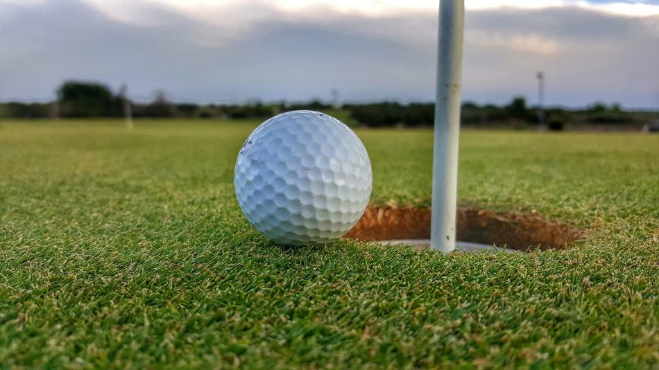 Golfing Golfball Grass Golf Course Golf Club Outdoors Green - Golf Course Leisure Activity Sport Competition Close-up Green Grass Area Grass Patience Patiently Waiting