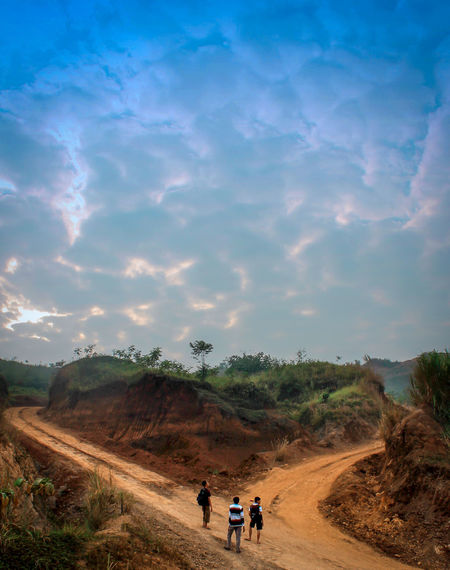 Looking for the right way, on the hill of love Love Hill INDONESIA Indonesia_photography Sukabumi,West Java Tree Working Men Mountain Sky Landscape Cloud - Sky Sand Dune Atmospheric A New Beginning EyeEmNewHere