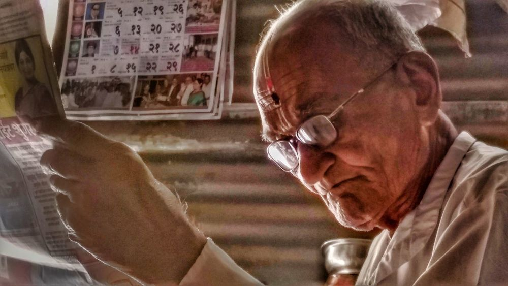 The 84 year old man reading newspaper.Daily work Adult One Person Indoors  Only Men Real People Close-up Day Portrait India Eyeem Photography EyeEmNewHere One Man Only EyeEm Best Shots Reading Newspaper Oldman Old Age People Daily Life Dailylifephotos EyeEmBestPics EyeEm Best Edits EyeEm Gallery EyeEm Best Shots - People + Portrait Eyeemphotography Window