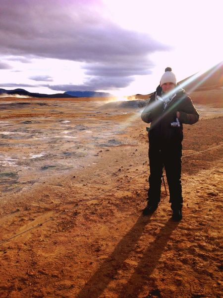 Glitch Mars Sun Volcanoes Gas Earth